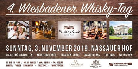4. Wiesbadener Whisky-Tag 2019 Tickets