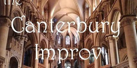 Weekly drop-in improv comedy class (Canterbury, Kent) tickets