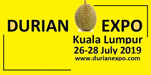 A Virtual Durian Tour in Pahang by Lindsay Gasik 26/7/2019 @DurianExpoKL