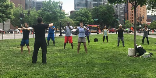 2019 Morning Tai Chi in Chinatown Park