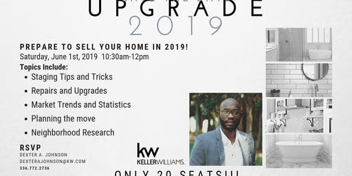 UPGRADE 2019: Preparing to sell your home!