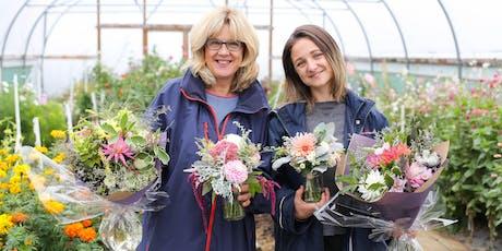 Hand-tied Seasonal Flower Bouquet Workshop tickets