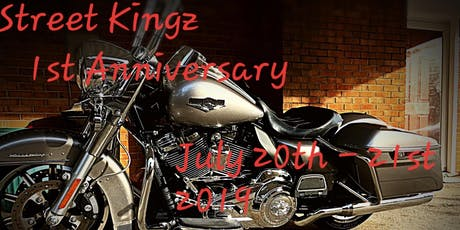 Street Kingz 1st Anniversary Party tickets