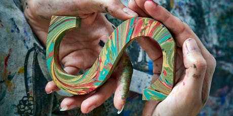Make a marbled letter with Lucy McGrath tickets