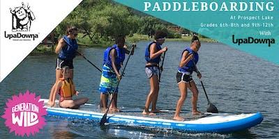 2019 Generation Wild Paddleboarding with UpaDowna