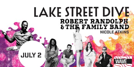 Lake Street Dive & Robert Randolph & The Family Band Live At Wave! tickets
