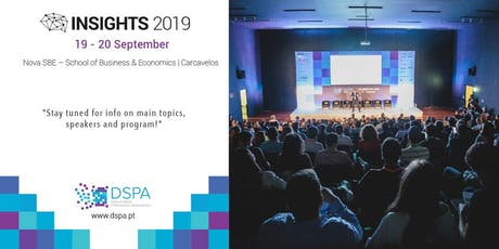 DSPA INSIGHTS 2019 bilhetes