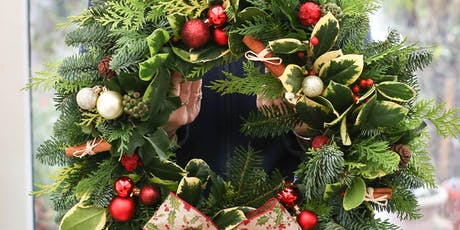 SOLD OUT Christmas Wreath Workshop tickets