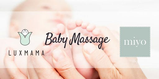 Baby Massage Foundation Workshop (Luxmama Prenatal ParentPrep) - 12 Jul 2019