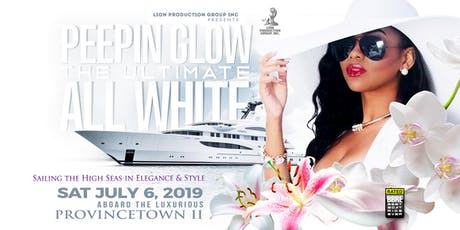 Peepin Glow ALL WHITE Boat Cruise tickets