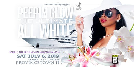 Peepin Glow ALL WHITE Boat Cruise