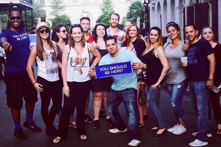 New Orleans  French Quarter Bar Pit Stop and NOLA Legends Tour Tour (7 PM Departure)