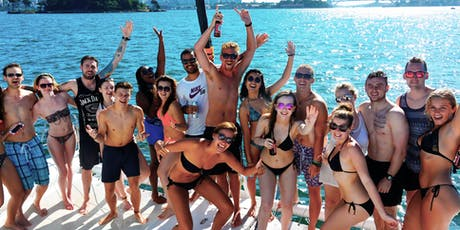 MIAMI BOAT PARTY + OPEN BAR + PARTY BUS tickets