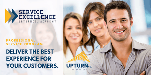 Professional Service Excellence UPTURNco. Academy