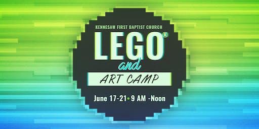 KFBC LEGO® & Art Camp