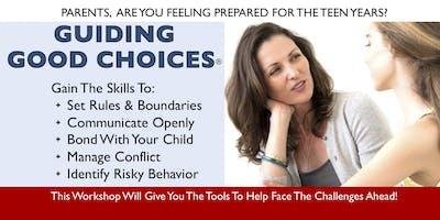 Guiding Good Choices Parent Workshop-Fall 2019