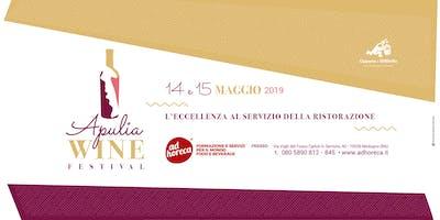 Apulia Wine Festival - L'eccellenza al servizio della ristorazione