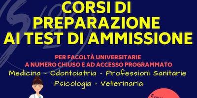 Preparazione test ammissione 2019 Odontoiatria e Professioni Sanitarie (AL)