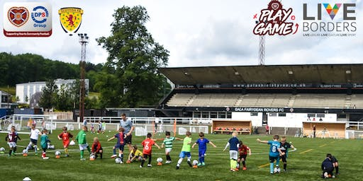 Summer Play the Game Course 2019 - Netherdale 3G, Galashiels (13-15 August '19)