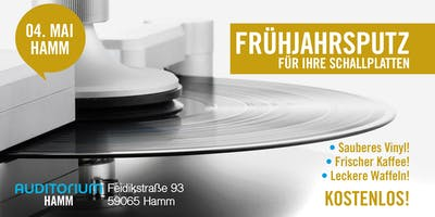 FRÜHJAHRSPUTZ für Ihre Schallplatten im AUDITORIUM