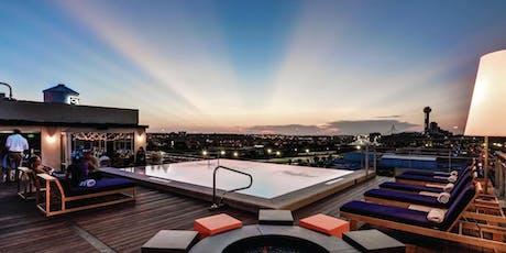 Facials & Flow July | CANVAS Hotel Dallas Rooftop tickets