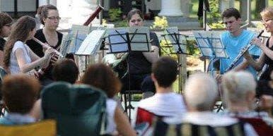 Concert in the garden:  West Island Youth Symphony Orchestra