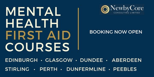 Mental Health First Aid Training - Dunfermline