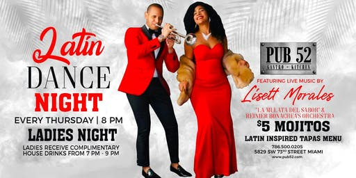 Latin Night Thursday's -Live Music Ladies Drink Free &  $5 Mojitos