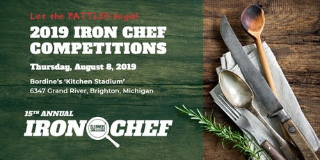 15th Annual Iron Chef Competition tickets