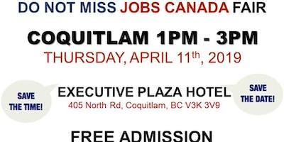 Free: Coquitlam Job Fair - April 11th, 2019