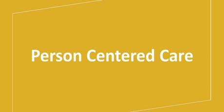 Person Centered Care tickets