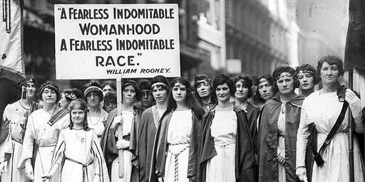 LADIES WHO LUNCH: Suffragettes: Fight for Women's Rights