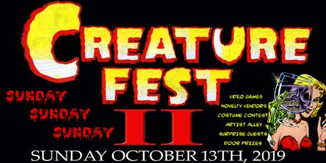 Creature Fest 2 tickets