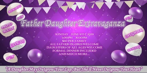 W.O.H.G. First Annual Father Daughter Extravaganza (NOTICE: Event has been postponed. Attendees will be notified of new date. We apologize for the inconvenience.)