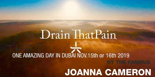Drain That Pain - One Day Training in Dubai with Joanna Cameron