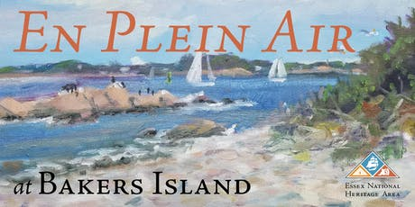 En Plein Air Painter's Workshop at Bakers Island tickets