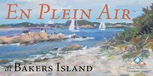 En Plein Air Painter's Workshop at Bakers Island