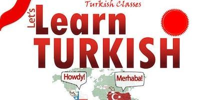 Turkish Language Classes 2018-2019