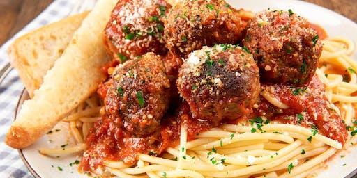 Pasta Night at Hilltop Deli & Catering