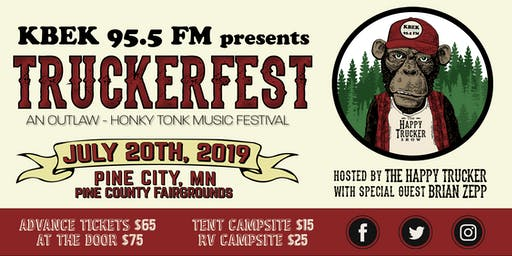 KBEK 95.5 FM presents TRUCKERFEST hosted by The Happy Trucker