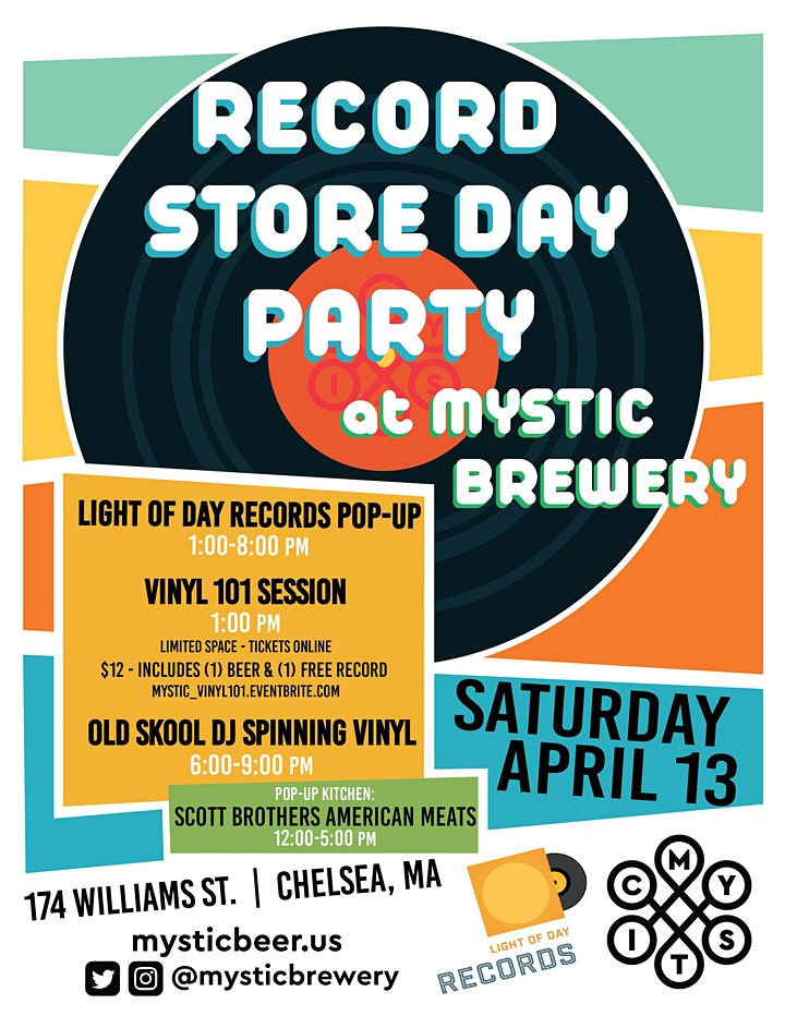 Record Store Day at Mystic Brewery image