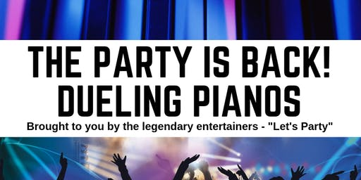 Let's Party Dueling Pianos at Milford Lake