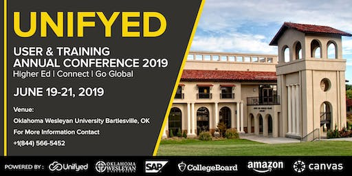 Unifyed User & Training Annual Conference 2019