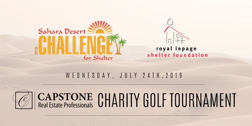 Sahara Desert Golf Tournament for Shelter!