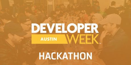 DeveloperWeek Austin 2019 Hackathon tickets