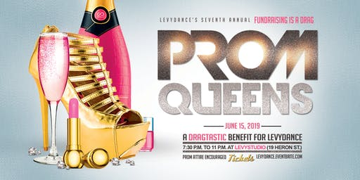 Fundraising Is A Drag: PROM QUEENS!