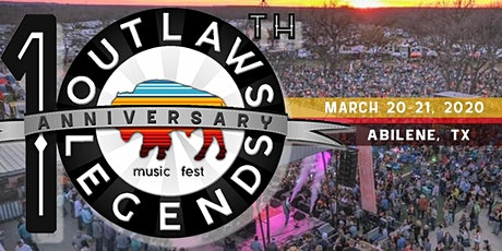 Outlaws & Legends Music Festival -10th Anniversary tickets