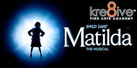 Matilda:  The Musical (Friday) tickets
