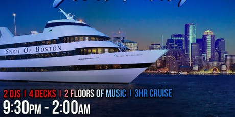 Boston Pre-July 4th Yacht Party- Special Pier Pressure tickets