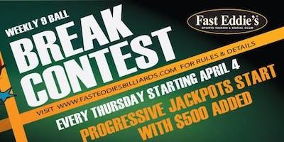 Thursday 9-Ball Break Contest!